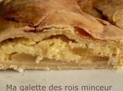 galette rois minceur crème d'amande pomme