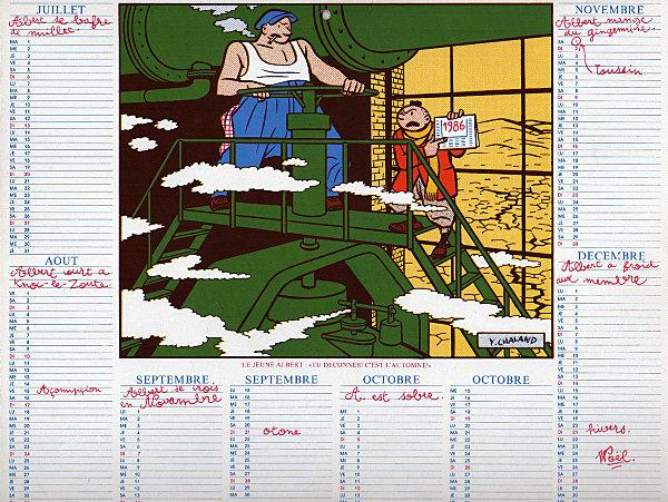 calendrier chaland 1