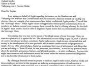 Apple iSlate craque sous pression