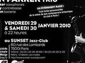 Evan Parker trio Sunset janvier 2010