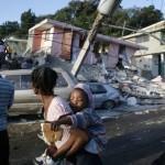 Désolation des ruines de la ville Port-Au-Prince