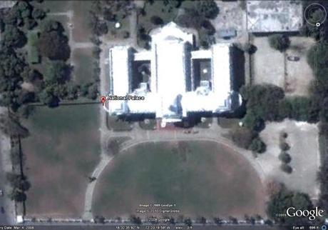 le palais présidentiel d'haïti après le séisme