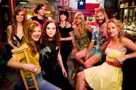 Drew Barrymore, Ellen Page, Zoe Bell, Andrew Wilson, Eve, Kristen Adolfi, Rachel Piplica et Kristen Wiig. Metropolitan FilmExport