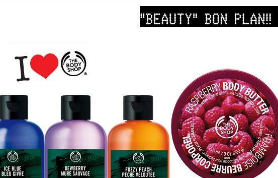 SOLDE THE BODY SHOP