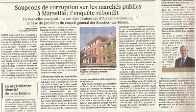 Marseille, Gaudin voeux pieux