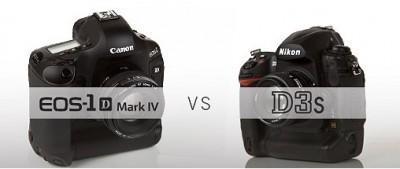 Test : le Canon EOS 1D Mark IV contre le Nikon D3s