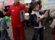 enfants Gaza donnent Haïti