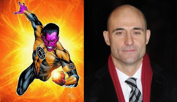 Green Lantern : Mark Strong en Sinestro ?