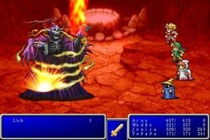 Final Fantasy 1 & 2 annoncés sur iPhone !