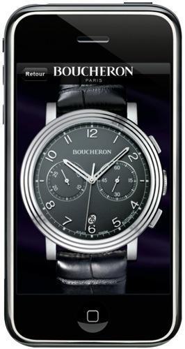 Post image for Une application iPhone Boucheron pour essayer montres et bijoux