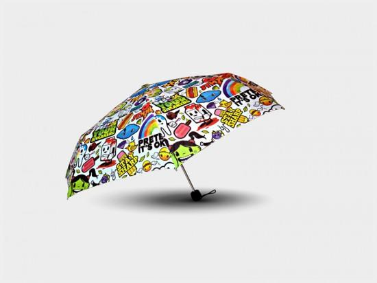 Parapluie Psychedelic Apples of Death - 29 € - Dandy Frog