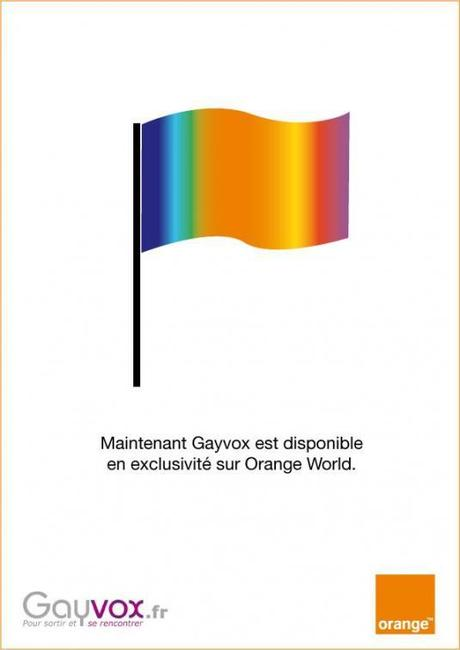 Mariage entre Gayvox.fr et Orange World