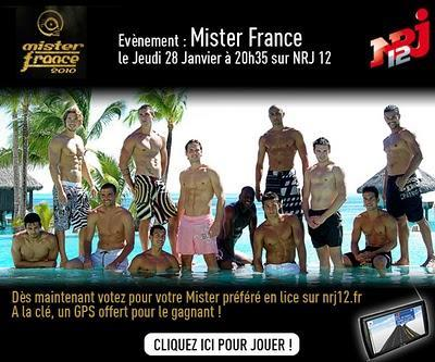 Mister France 2010 sur NRJ12