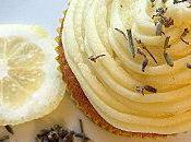 Recette Cupcakes 'Lemon Lavender Flowers' Citron Fleurs Lavande