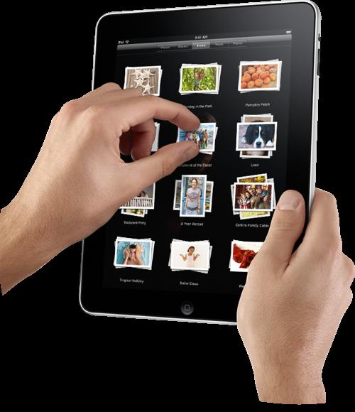 iPad multi touch