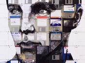 Nick Gentry Floppy Disk Paintings