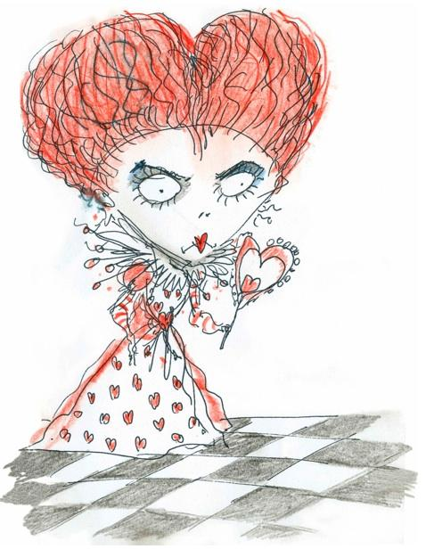 red queen alice burton