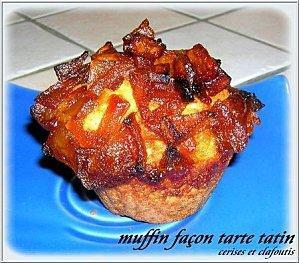 Muffins tarte tatin CC