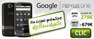 Le Google Phone disponible en France