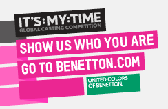 It's My Time: le Global Casting de Benetton