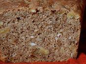 Pain céréales, roquefort noix