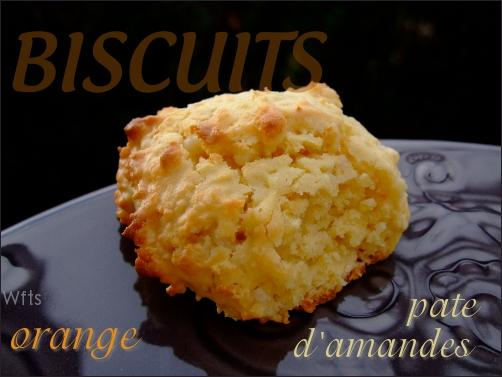 - BISCUITS À L ORANGE ET À LA PÂTE D'AMANDES -
