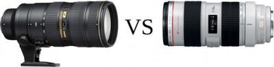Test : le Canon 70-200mm f/2.8 IS vs le Nikon 70-200mm f/2.8 VR