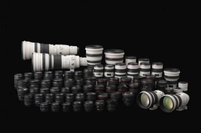 News : 50 millions d'objectifs Canon EF