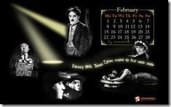 image thumb2 Fonds d'écrans calendrier de Février