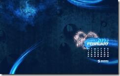 image thumb5 Fonds d'écrans calendrier de Février