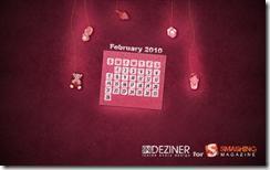 image thumb1 Fonds d'écrans calendrier de Février