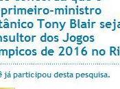 2016 Rio: Tony Blair, consultant indésirable