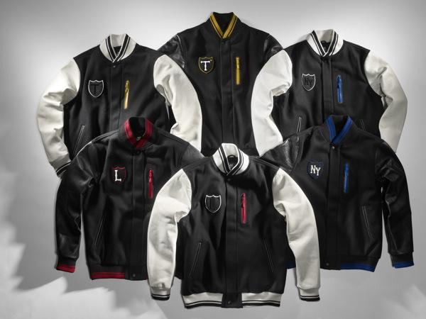 "UK Series : Nike Sportswear ""Destroy"" London Varsity Jacket"