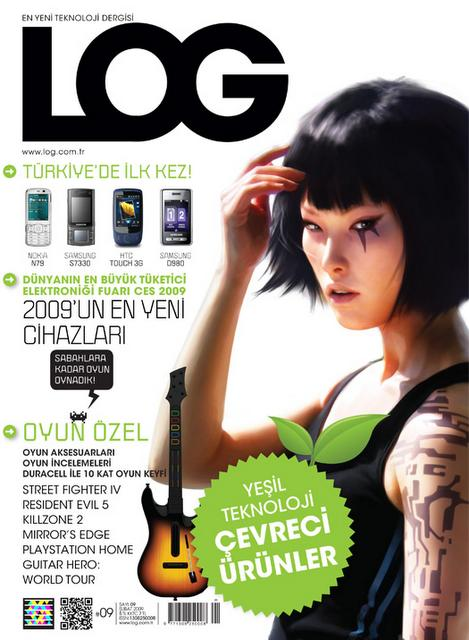 Microsoft Tag + QR Code in a turkish magazine