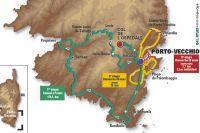 Le tracé du Critérium International 2010