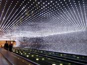 Dans tunnel lumière