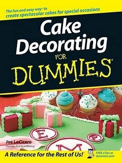 Cake decorating for dummies, pour les nuls !
