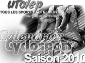 UFOLEP Creuse Calendriers cyclosport 2010