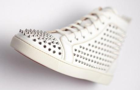 """Post image for Christian Louboutin """"Louis"""", sneakers cloutées"""