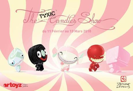 Expo THE TOXIC CANDIES SHOW du 11 Février au 13 Mars