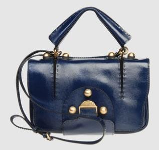 Dark blue vintage style by Fendi !