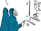 Deux hommes burqa braquent poste