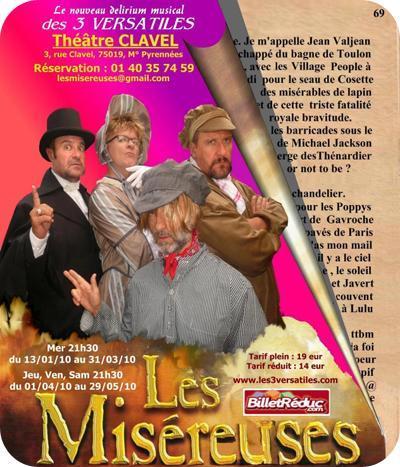 Les Misereuses, Une adaptation musicale des Misérables revisités façon Versatiles