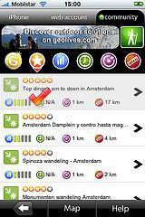 Tourisme et Iphone font bon ménage, l'exemple de Geolives-M ! :