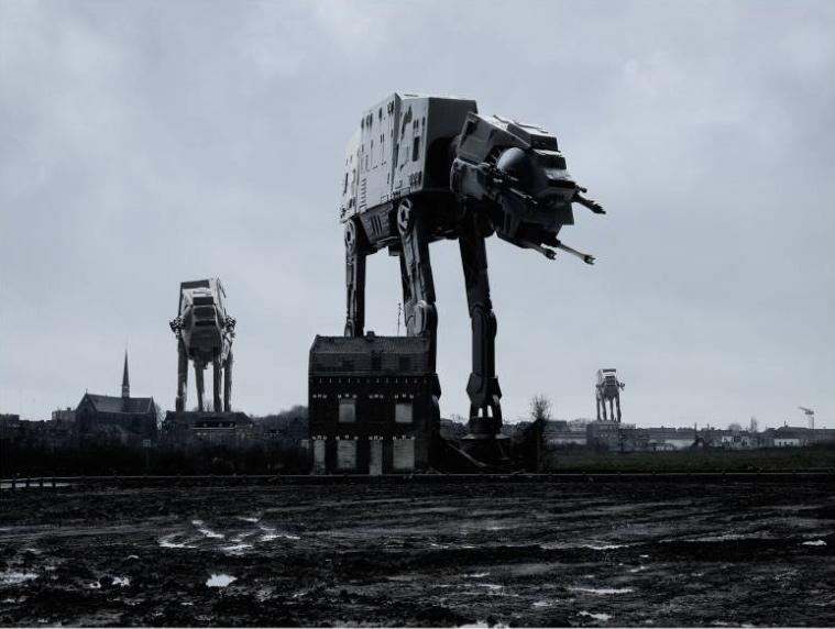 Photomontages Star Wars