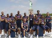 Team Basketball joueurs désignés pour représenter bannière étoilée Mondial Turc Londres