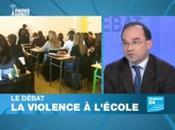 Débat France consacré violence l'école