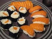 Makis, Sashimis Sushis saumon