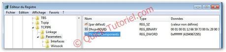 #157 [Astuce] Désactiver totalement TCP/IP V6 sur Windows 7.