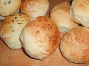 Petits pains croustillants poivre